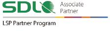 SDL LSP パートナープログラムのアソシエイトパートナーであることを証明するロゴ画像
